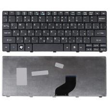 Клавиатура для ноутбука Acer Aspire One 521, 522, 532, 532H, 532G, 533, D255, D255E, D257, D260, D270, ZE6, ZH9, Happy, Happy2, E100, eMachines 350, 355, Gateway LT27, LT28, Packard Bell Dot S2, SC, SE, SE3, NAV50, PAV80 Чёрная
