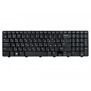 Клавиатура для ноутбука Dell N5110, 15R MP-10K73SU-442 чёрная, чёрная с рамкой