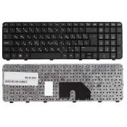 Клавиатура HP Pavilion DV6-6000, DV6-6100, DV6-6b00, DV6-6c00, DV6T-6000, DV6T-6100, DV6T-6b00, DV6T-6c00, DV6Z-6b00, DV6Z-6c00, 634139-251, 665937-251 Чёрная, с рамкой