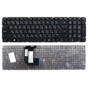 Клавиатура HP Pavilion G7-2000, G7-2100, G7-2200, G7-2300, 697477-251 Черная без рамки, горизонтальный ENTER