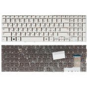 Клавиатура Samsung NP370R5E, NP450R5E, NP450R5V, NP470R5E, NP510R5E BA59-03621C Белая, без рамки