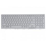 Клавиатура для ноутбука Sony Vaio VPC-EH 148971361 White, white с рамкой