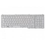 Клавиатура для ноутбука Toshiba Satellite C650, C650D, C655, C660, L650, L650D, L655, L670, L675, L750, L750D, L755, L775 9Z.N4WGV.101 White