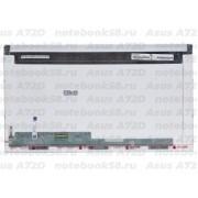 Матрица для ноутбука Asus A72D (1600x900, LED, 40pin) Матовая