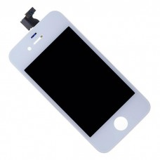 Дисплей c тачскрином для телефона iPhone 4 (класс AAA) белый